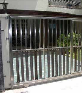 steel sliding door frames